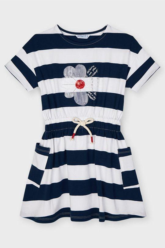 Mayoral - Dívčí šaty námořnická modř