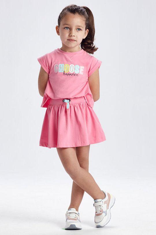 bledofialový Mayoral - Dievčenské šaty Dievčenský