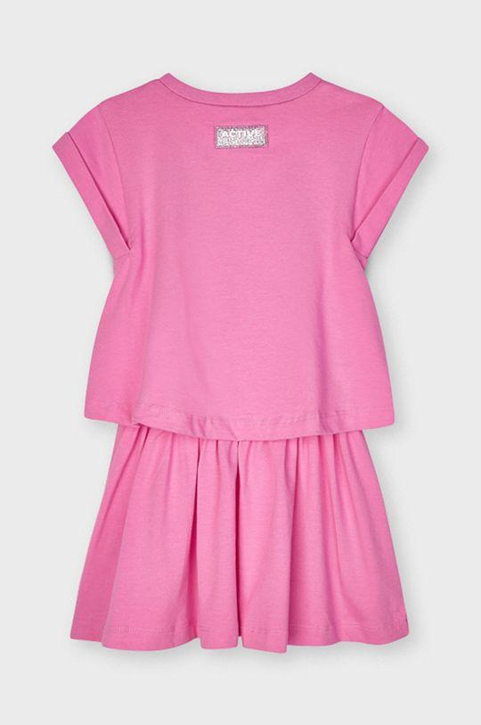 Mayoral - Dievčenské šaty  Podšívka: 60% Bavlna, 40% Polyester Základná látka: 93% Bavlna, 5% Elastan, 2% Polyester