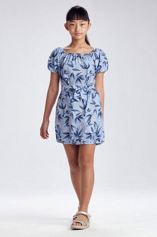 svetlomodrá Mayoral - Dievčenské šaty Dievčenský