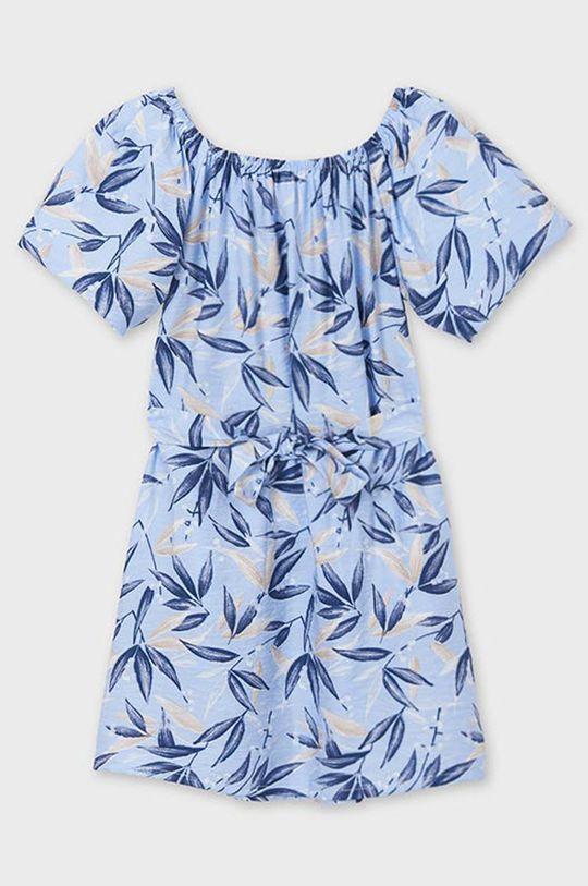Mayoral - Dievčenské šaty svetlomodrá