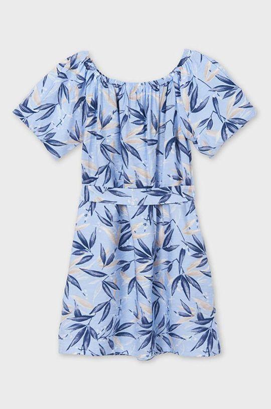 Mayoral - Dievčenské šaty  Základná látka: 21% Polyamid, 79% Viskóza Podšívka rukáva: 37% Bavlna, 63% Polyester