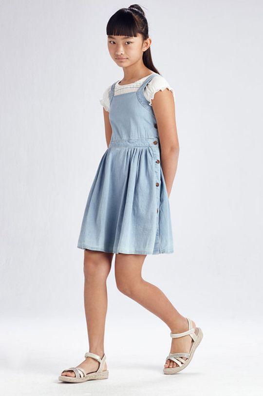 albastru pal Mayoral - Rochie fete De fete