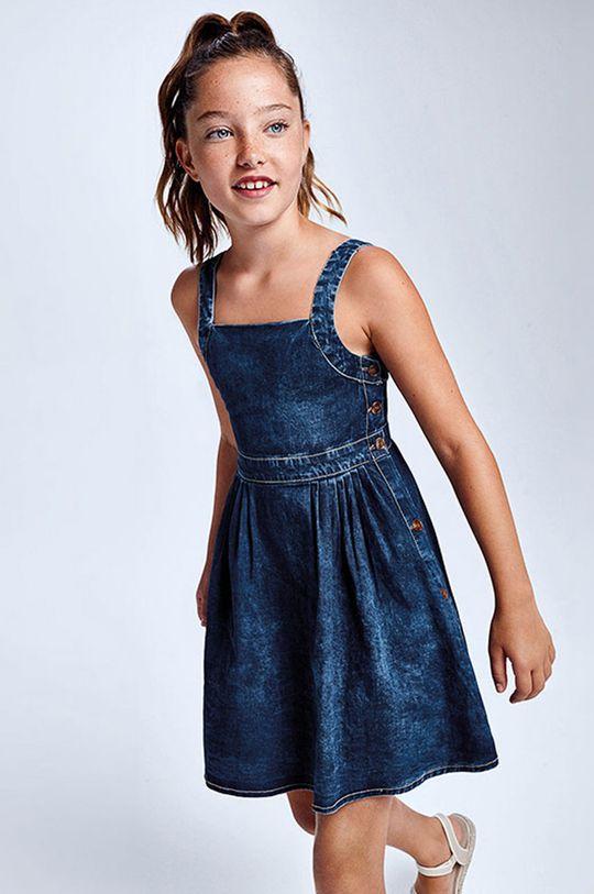 červenofialový Mayoral - Dievčenské šaty Dievčenský