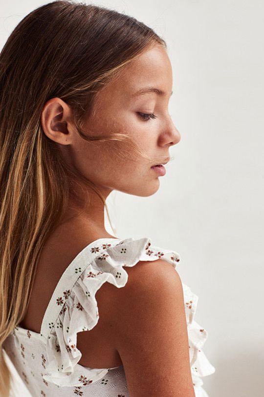 Mayoral - Sukienka dziecięca piaskowy