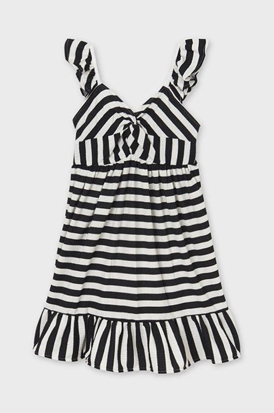čierna Mayoral - Dievčenské šaty Dievčenský