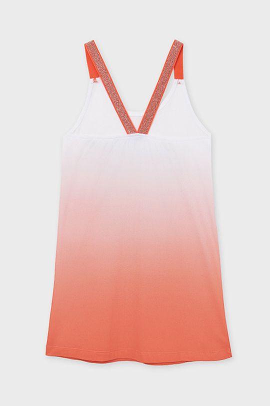Mayoral - Dievčenské šaty  94% Bavlna, 2% Elastan, 3% Polyamid, 1% Metalické vlákno