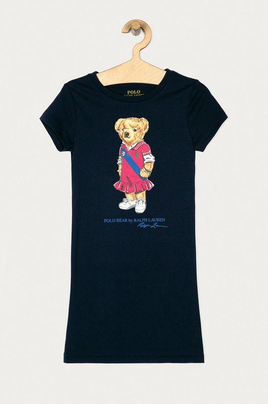 granatowy Polo Ralph Lauren - Sukienka dziecięca 128-176 cm Dziewczęcy