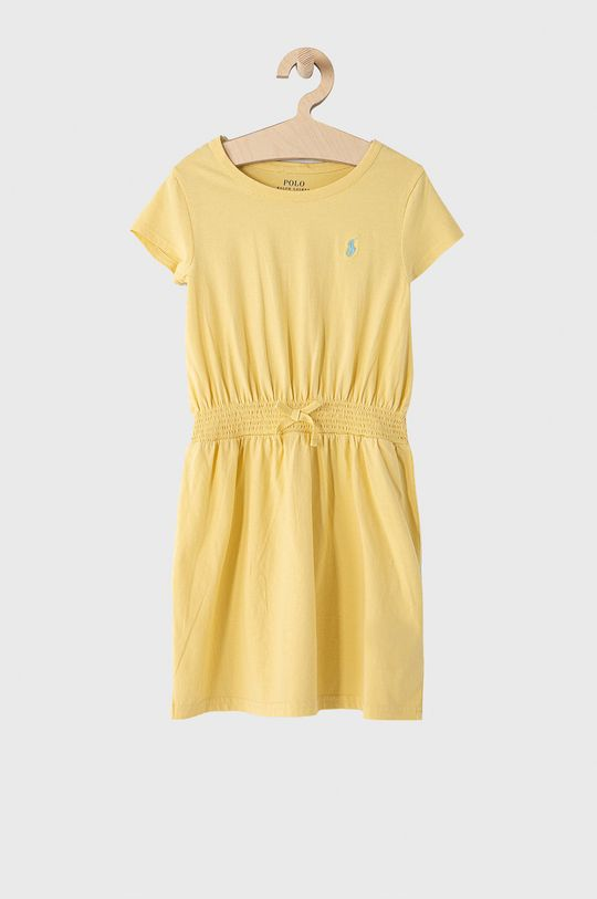 žltá Polo Ralph Lauren - Dievčenské šaty 128-176 cm Dievčenský
