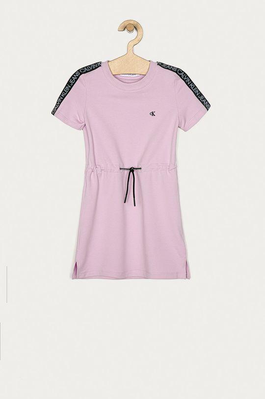 růžová Calvin Klein Jeans - Dívčí šaty 104-176 cm Dívčí
