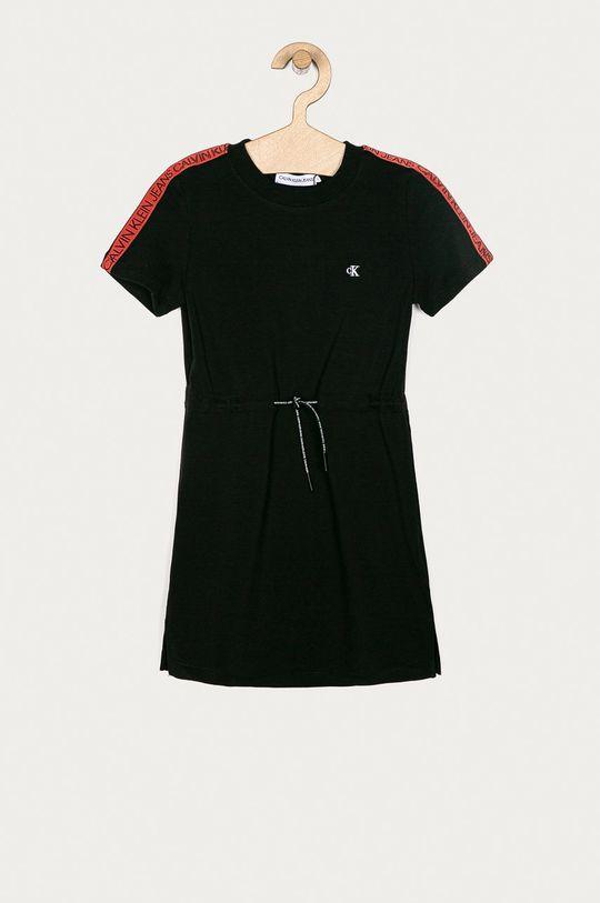 čierna Calvin Klein Jeans - Dievčenské šaty 104-176 cm Dievčenský