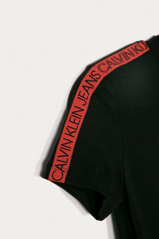 Calvin Klein Jeans - Dievčenské šaty 104-176 cm čierna