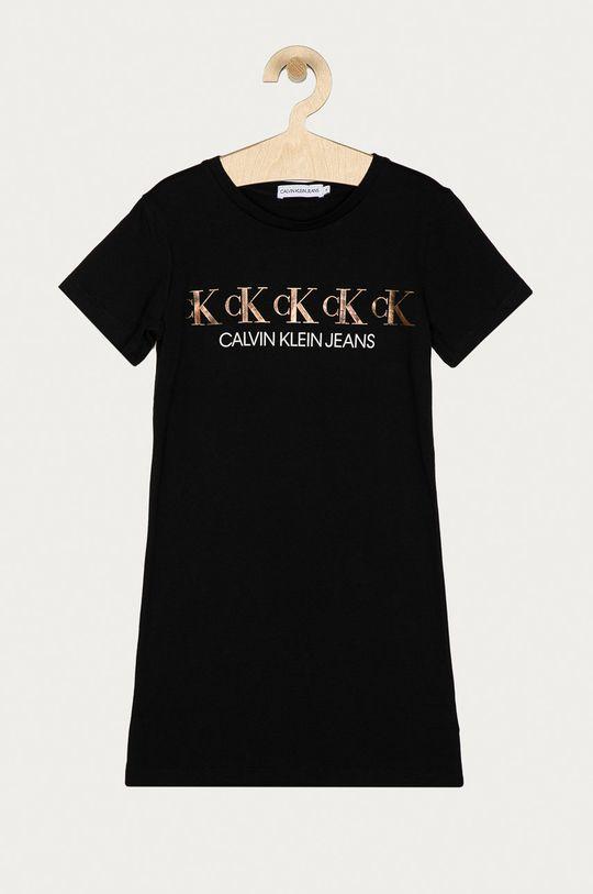 černá Calvin Klein Jeans - Dívčí šaty 128-176 cm Dívčí