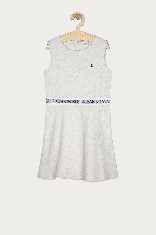 světle šedá Calvin Klein Jeans - Dívčí šaty 140-176 cm Dívčí