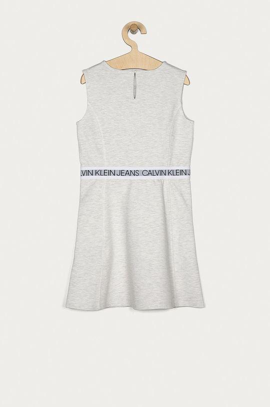 Calvin Klein Jeans - Dívčí šaty 140-176 cm světle šedá