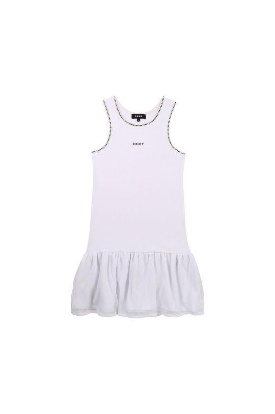 Dkny - Sukienka dziecięca czarny