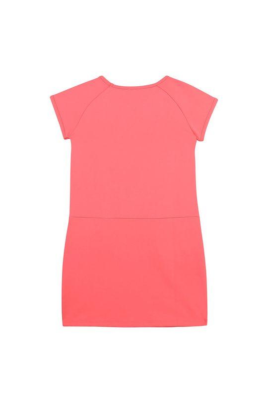 Karl Lagerfeld - Sukienka dziecięca różowy