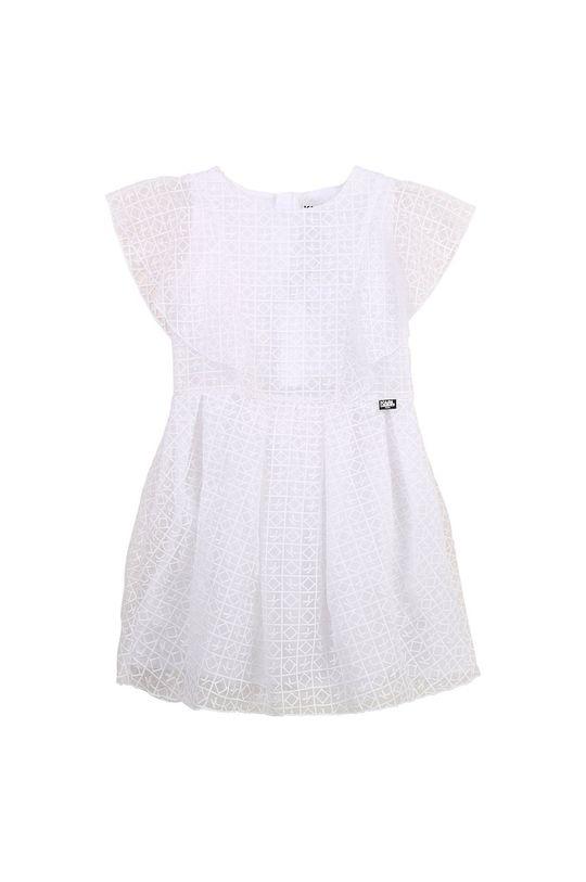 Karl Lagerfeld - Dívčí šaty bílá