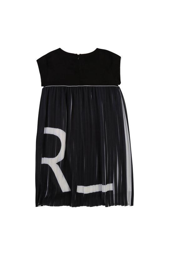 Karl Lagerfeld - Dívčí šaty černá