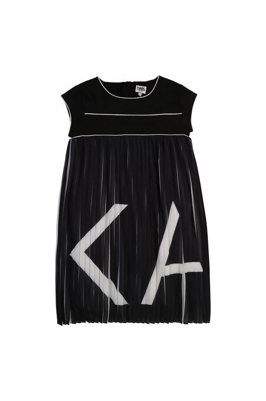černá Karl Lagerfeld - Dívčí šaty Dívčí