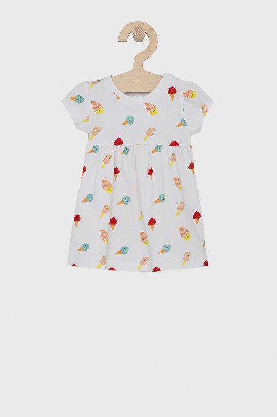 bílá Name it - Šaty s čelenkou Dívčí