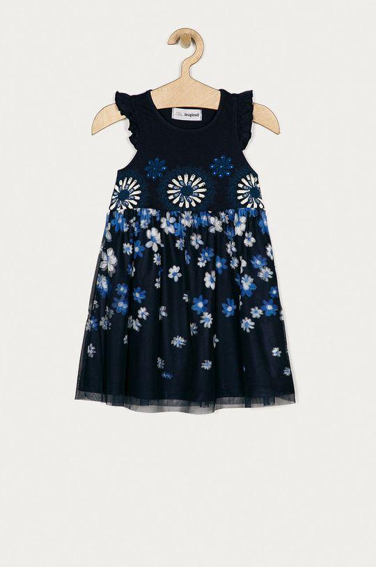 námořnická modř Desigual - Dívčí šaty 104-164 cm Dívčí