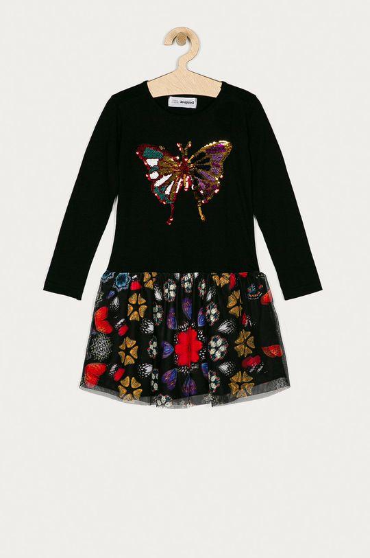 černá Desigual - Dívčí šaty 104-164 cm Dívčí