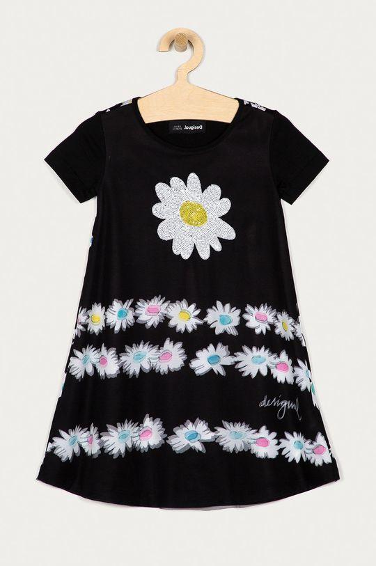 czarny Desigual - Sukienka dziecięca 104-164 cm Dziewczęcy