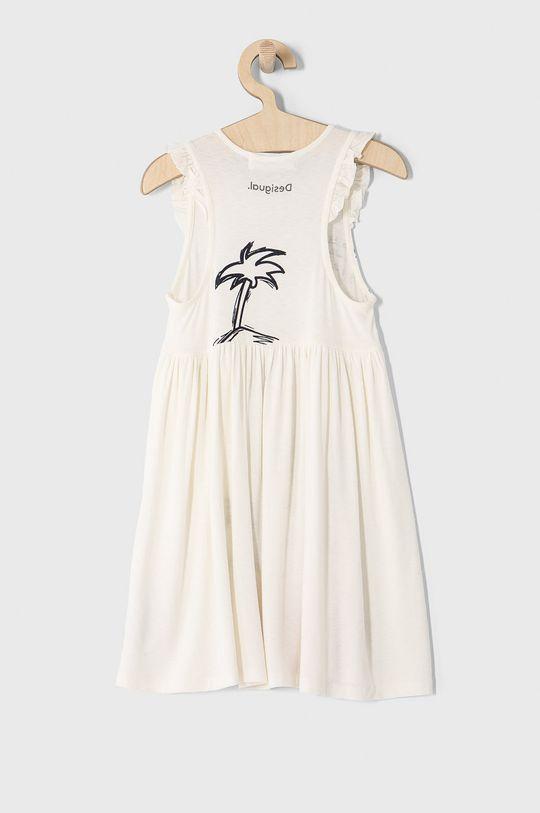 Desigual - Dievčenské šaty 104-164 cm biela
