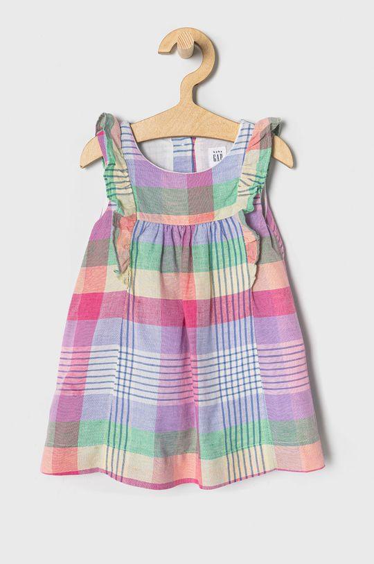vícebarevná GAP - Dívčí šaty 50-86 cm Dívčí