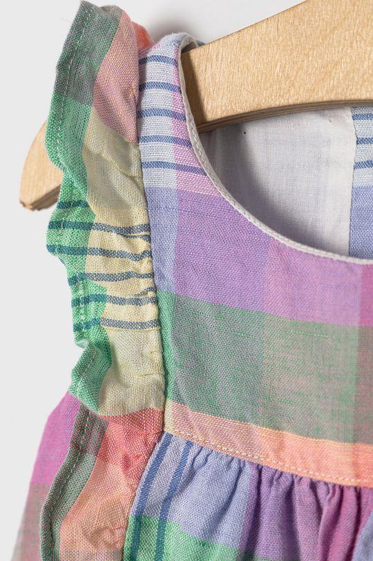 GAP - Dívčí šaty 50-86 cm  Podšívka: 100% Bavlna Hlavní materiál: 45% Bavlna, 55% Len