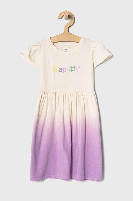 levanduľová GAP - Dievčenské šaty 74-110 cm Dievčenský