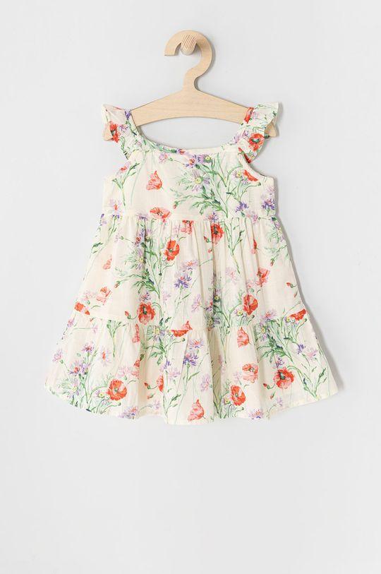 GAP - Sukienka dziecięca 74-110 cm kremowy