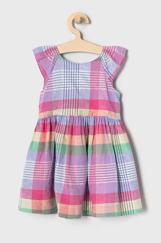 GAP - Dievčenské šaty 74-110 cm ružová