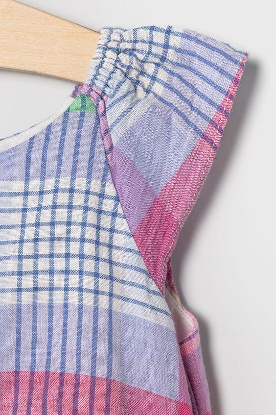 GAP - Dievčenské šaty 74-110 cm  Podšívka: 100% Bavlna Základná látka: 45% Bavlna, 55% Ľan