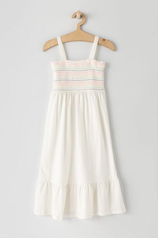 biały GAP - Sukienka dziecięca 104-176 cm Dziewczęcy