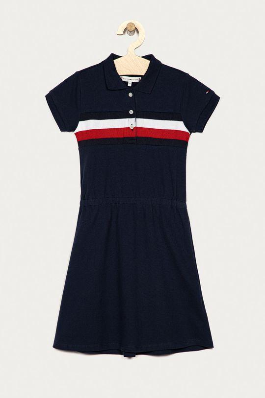 tmavomodrá Tommy Hilfiger - Dievčenské šaty 128-176 cm Dievčenský