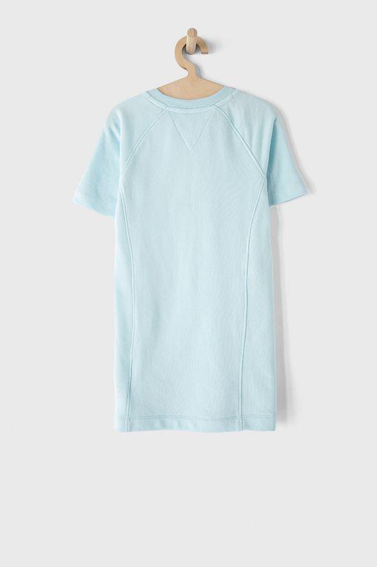 Tommy Hilfiger - Sukienka dziecięca jasny niebieski