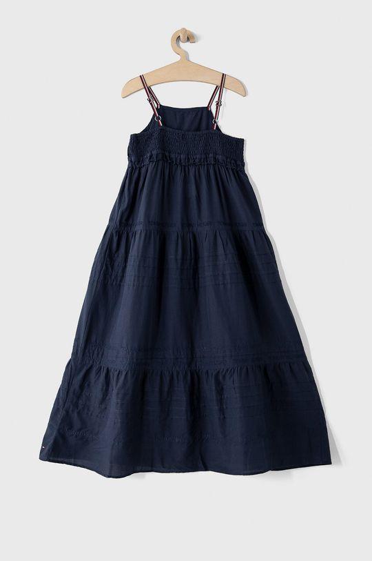 Tommy Hilfiger - Dievčenské šaty 152-176 cm tmavomodrá