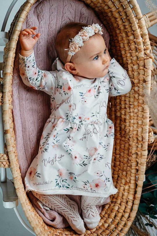 Jamiks - Sukienka dziecięca AMITA biały
