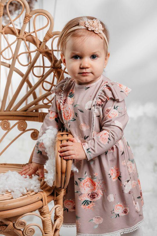Jamiks - Sukienka dziecięca AMITA 5 % Elastan, 95 % Wiskoza bambusowa