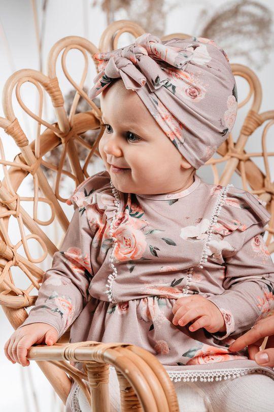 pastelowy różowy Jamiks - Sukienka dziecięca AMITA