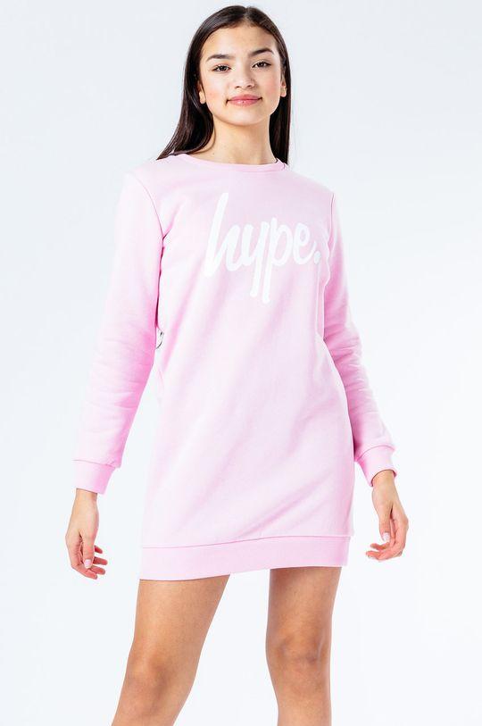 różowy Hype - Sukienka dziecięca 122-176 cm Dziewczęcy