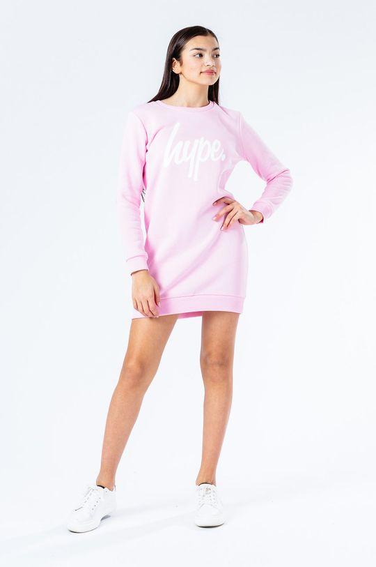 Hype - Sukienka dziecięca 122-176 cm różowy