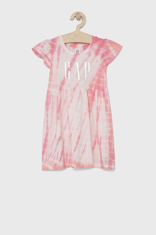 pastelově růžová GAP - Dívčí šaty Dívčí