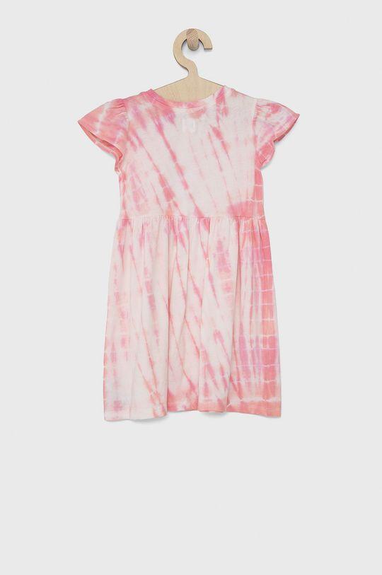 GAP - Dívčí šaty pastelově růžová