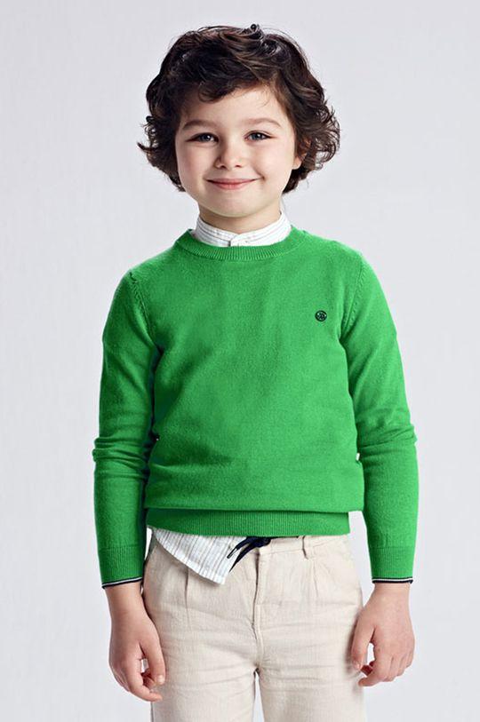 ostry zielony Mayoral - Sweter dziecięcy Chłopięcy