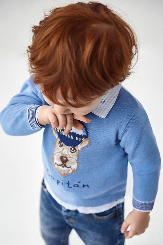 Mayoral - Detský sveter svetlomodrá
