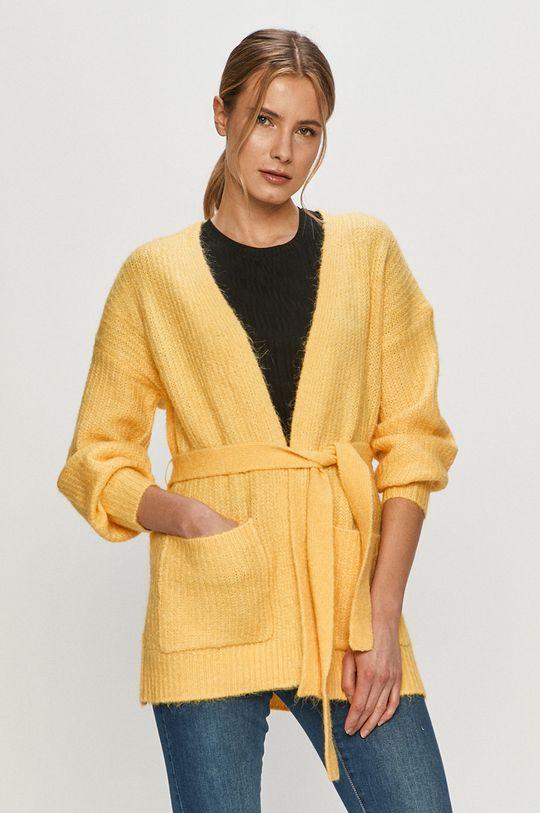 jasně žlutá Vero Moda - Kardigan Dámský