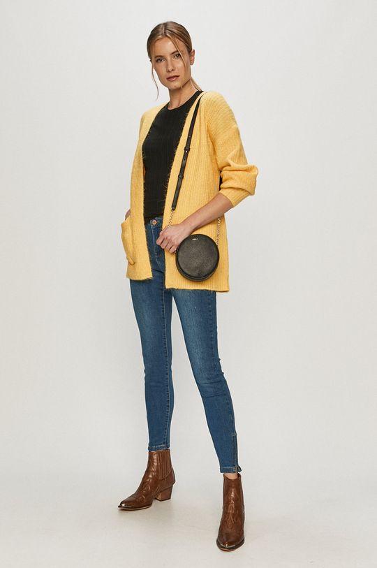 Vero Moda - Kardigan jasně žlutá